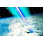 Синий лазер