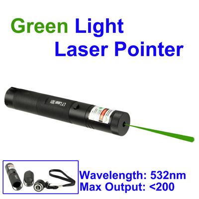 Указка лазерная 200 мВт Pro с фокусировкой