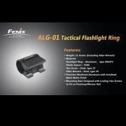 Кріплення на зброю для ліхтарів Fenix Пікатіні  ALG-01