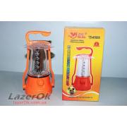 Кемпинговая лампа-фонарь YAJIA 5830 с дополнительной установкой батарей!