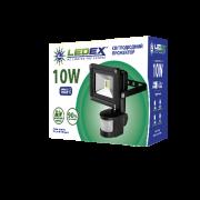 Прожектор c датчиком LedEX 10W (800lm)