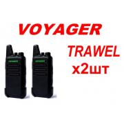 Рація міні Voyager Travel (2 шт + usb)