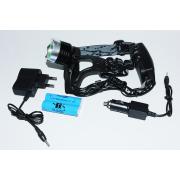Налобный фонарь Police BL-2189А T6