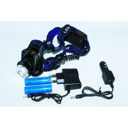 Ультрафиолетовый фонарь налобный Police 204С (6699)