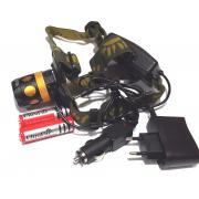 Налобный фонарь Police 6813B T6