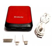 Зарядное устройство Power Bank Defender 7800mAh