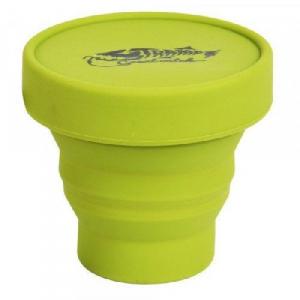 Стаканскладнойсиликоновыйскрышкой  TrampTRC-083-olive