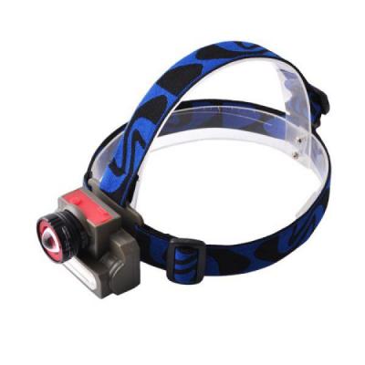 Фонарь налобный Police 6908 (micro USB)