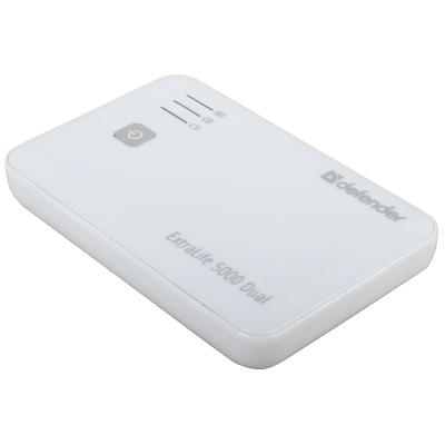 Зарядное устройство Power Bank Defender 5000mAh
